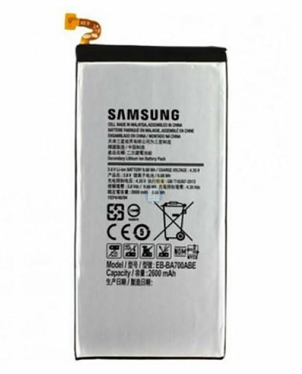 Accu Samsung Galaxy A7 - EB-BA700ABE-0
