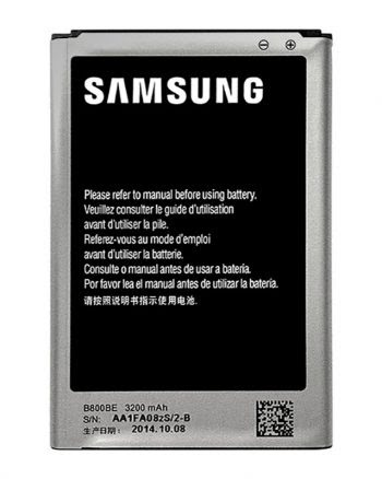 Accu Samsung Galaxy Note 3 - B800BE-0