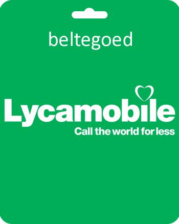 Lyca Mobile €20-0