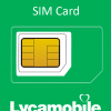 Lyca Mobile Simkaart incl.€5 + 50mb internet-0