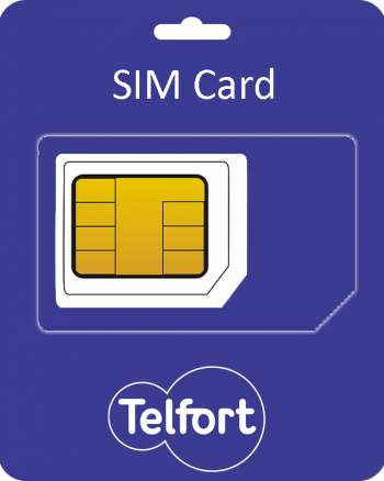 Telfort Sim Card incl. €5 beltegoed-0