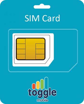 Toggle Sim Card Incl. €10 beltegoed-0