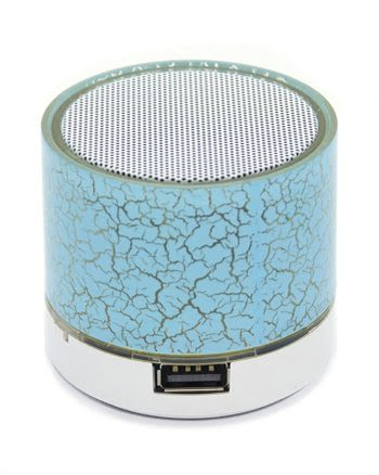 Mini Bluetooth Speaker Blauw-0