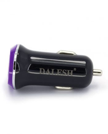 Car Charger USB - Paars-0