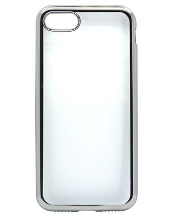 iPhone 7 Color Case - Zilver-0