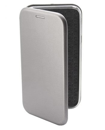 Apple iPhone 7 Metallic BookCase Zilver-0