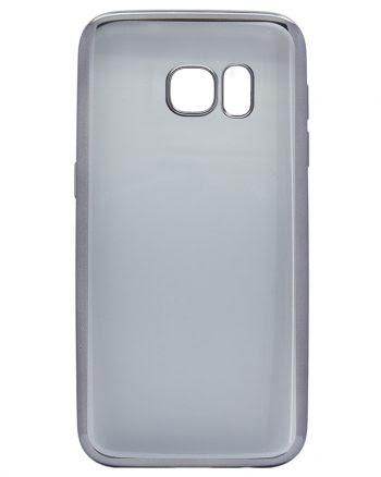 Samsung Galaxy S7 Case Grijs Transparant-0
