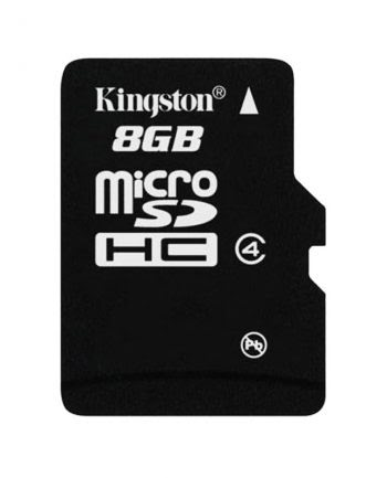 Kingston MicroSDHC Card 8GB 100% origineel class 4-0