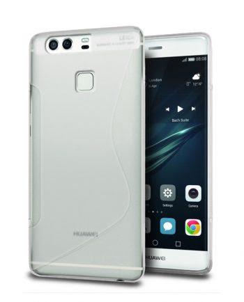 Huawei P9 Plus Hoesje Transparant-0