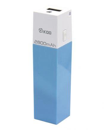 Powerbank 2800 mAh - Blauw-0