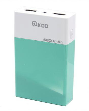 Powerbank 6800 mAh - Groen-0
