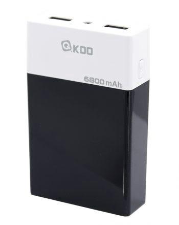 Powerbank 6800 mAh - Zwart-0