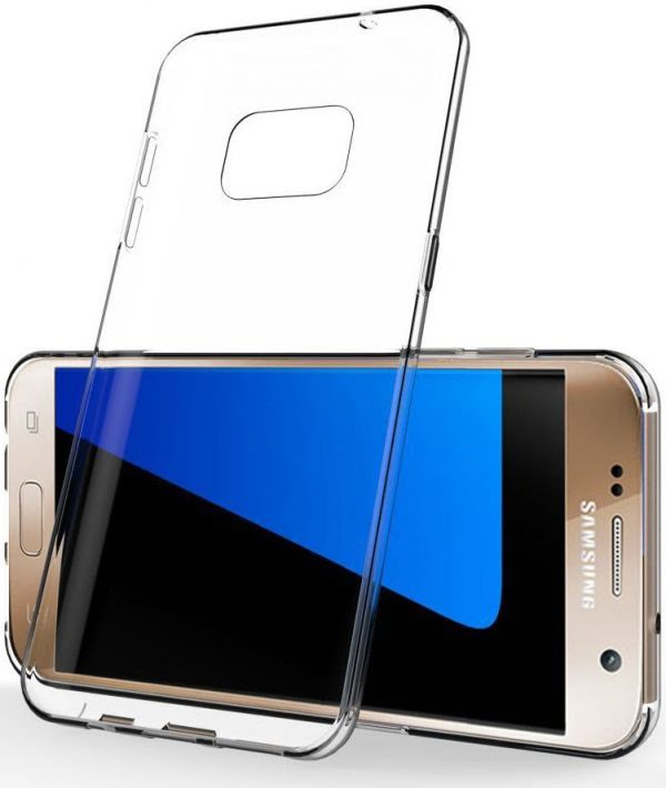 Samsung S7 Edge Case Transparant-0