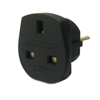 Travel Adapter - zwart-0