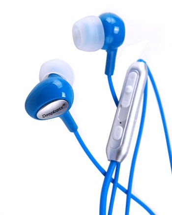 Deepbass Ultimate Sound In-ear Headphones MV-505 - Blauw-0