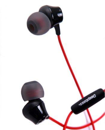 Deepbass High Performance In-Ear Headphones D-03 - Rood-0