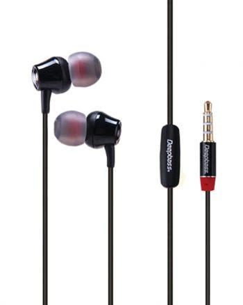 Deepbass High Performance In-Ear Headphones D-03 - Zwart-0