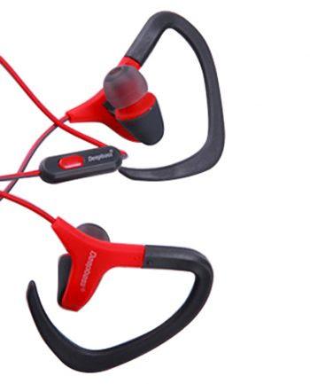 Deepbass Sport Earphone In-Ear Headphones D-09 - Rood-0