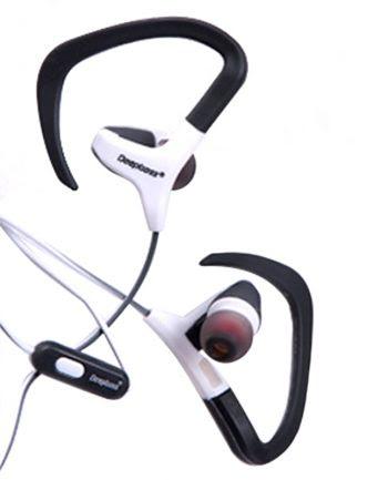 Deepbass Sport Earphone In-Ear Headphones D-09 - Wit-0