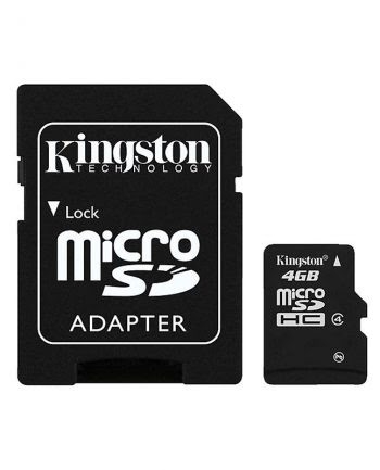 Kingston MicroSDHC Card 4GB 100% origineel Class 10-0