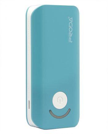 Proda Powerbank Jane - 6000 mAh - Blauw-0