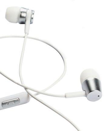 Deepbass Small Size Heavy Bass In-ear Headphones D-12 - Wit-0