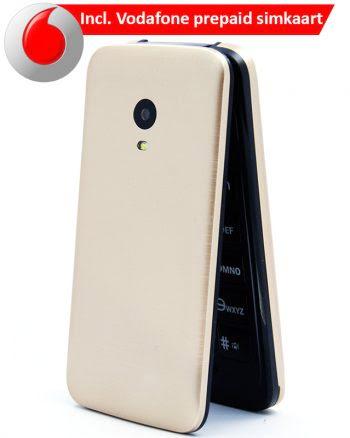 ASRA Mobile C7 Gold + Vodafone Simkaart-0