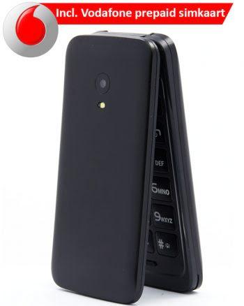 ASRA Mobile C7 ZWART 8 MB + Vodafone Simkaart-0
