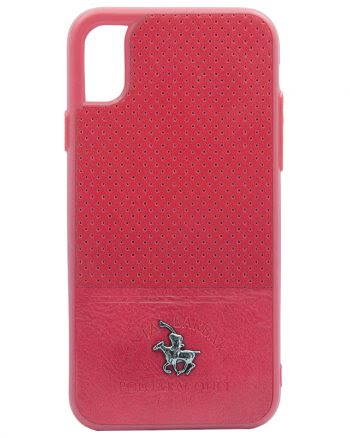 Apple iPhone X Polo Racquet Case Rood-0