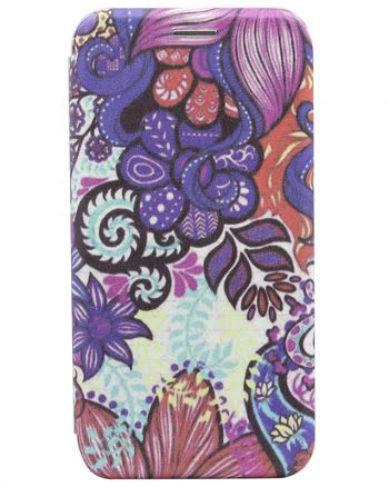 Apple iPhone X BOOKCASE psychedelic art 4-0