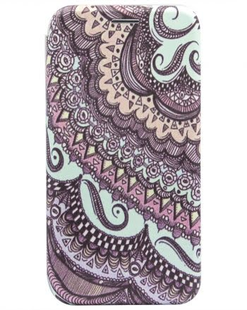Apple iPhone X Bookcase psychedelic art 3-0