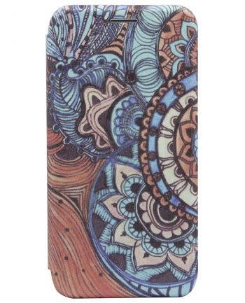 Apple iPhone X BOOKCASE PSYCHEDELIC ART 1-0