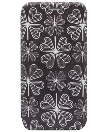 Apple iPhone X Bookcase Colorprint Flowers-0