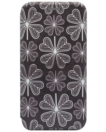 Apple iPhone X Bookcase Colorprint Flowers-0