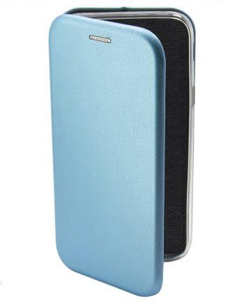 Apple iPhone X Metallic BookCase Blauw-0