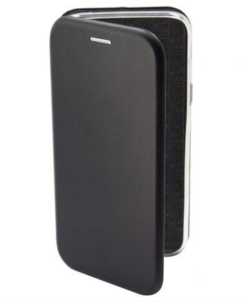 Apple iPhone X Metallic Book Case zwart-0