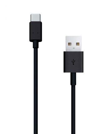 Type-C naar USB kabel 1,2m - Zwart-0