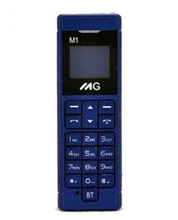 MG MOBILE M1 KLEINSTE GSM TELEFOON Blauw 10 MB-0