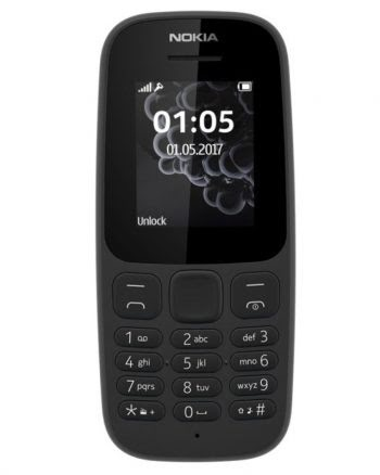 Nokia 105 (2017) Zwart Dual SIM 4 GB-0