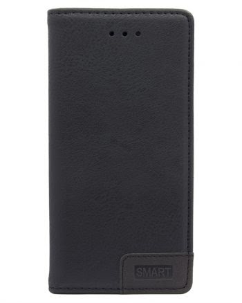 Samsung S6 Smart Book Case Zwart-0