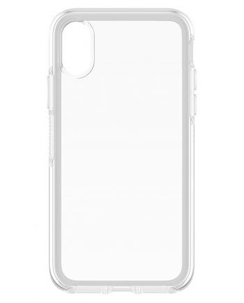 Apple iPhone X Hoesje Transparant-0