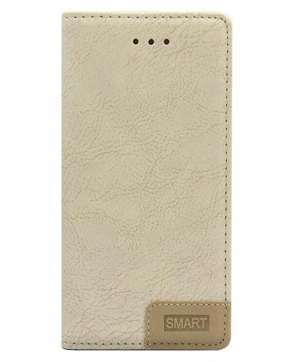 Samsung J7 NXT / Core Smart Bookcase - beige-0