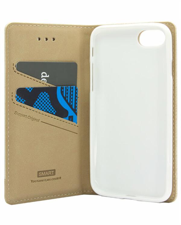 Samsung J7 NXT / Core Smart Bookcase - beige-5699