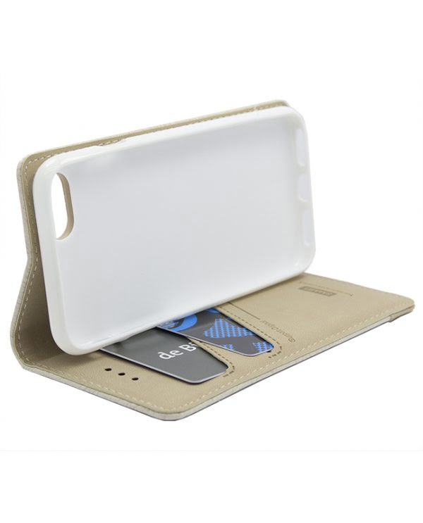 Samsung J7 NXT / Core Smart Bookcase - beige-5700