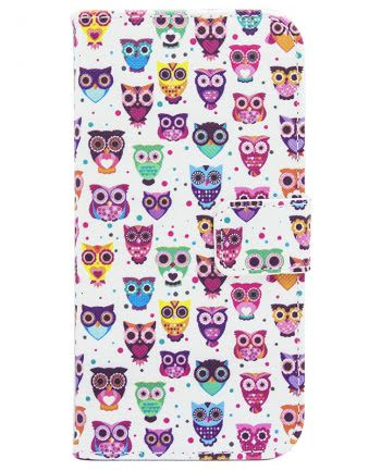 Samsung A3 (2016) Bookcase Happy Owl-0