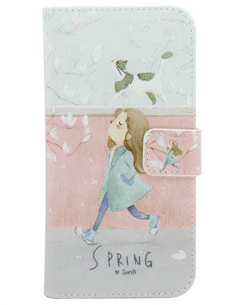 iPhone 6(s) Plus Springtime Bookcase-0
