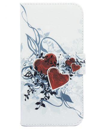 LG G5 Leaf Heart Bookcase-0
