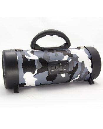 Wireless speaker medium CH-M04 armyprint - grijs-0