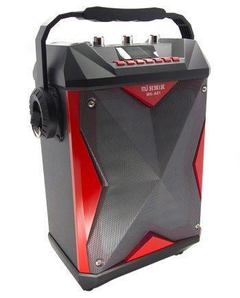 Portable Speaker met ledverlichting MK-A01 - rood-0