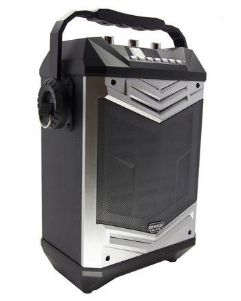 Portable Speaker met ledverlichting MK-A01 - zilver-0